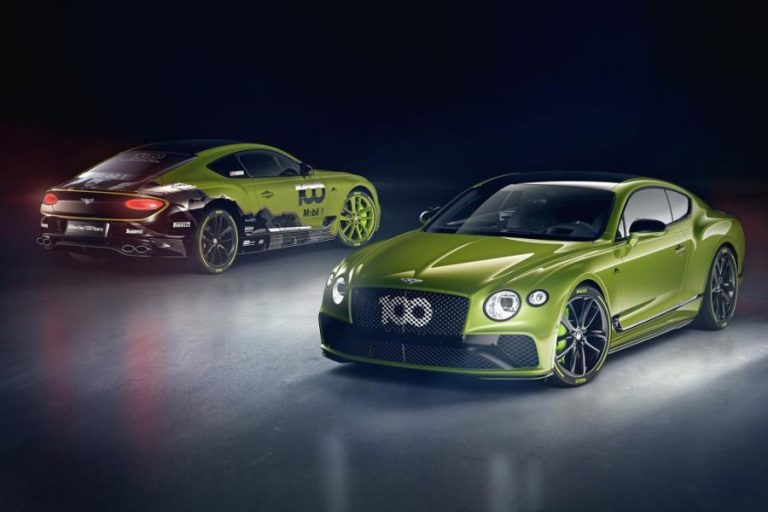 Bentley Continental GT Pikes Peak Special Edition Revealed