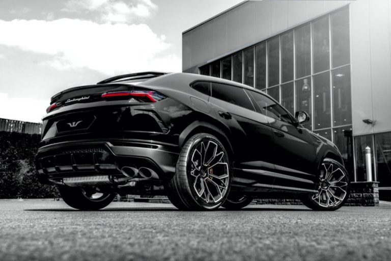 Lamborghini Urus by Wheelsandmore with an attractive exterior and a full of 808 horsepower