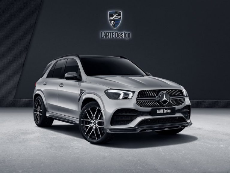 Larte Design with a new package for the new generation of Mercedes GLE