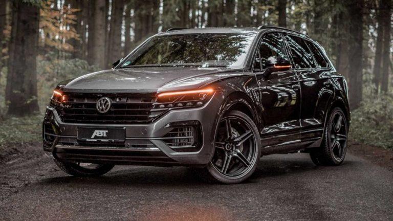 Volkswagen Touareg with V8 engine under ABT treatment