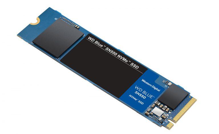 New WD Blue SN550 M.2 NVMe SSDs arrives