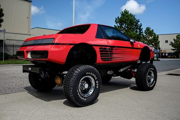 auto 1984 pontiac fiero custom is a macabre ferrari testarossa chevy blazer mashup 139991 11577289622
