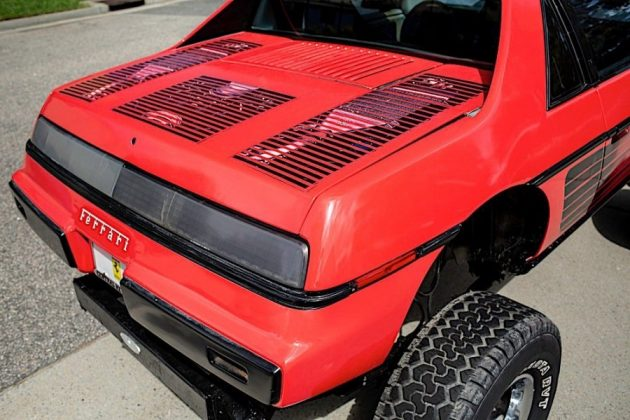 auto 1984 pontiac fiero custom is a macabre ferrari testarossa chevy blazer mashup 11577289620