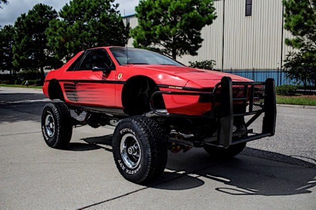 auto 1984 pontiac fiero custom is a macabre ferrari testarossa chevy blazer mashup 21577289619