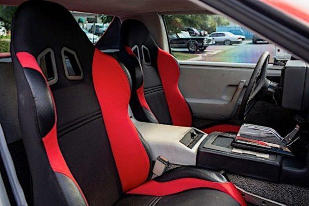 auto 1984 pontiac fiero custom is a macabre ferrari testarossa chevy blazer mashup 31577289620