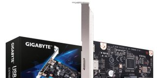Gigabyte adds a 20 Gbps USB 3.2 Gen 2x2 PCIe card to its line
