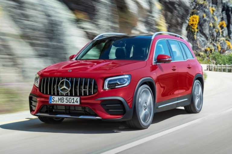 2020 Mercedes-AMG GLB 35 with 302 HP Revealed