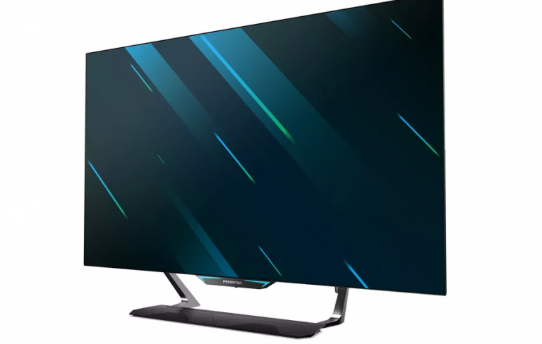 Acer brings the 55-inch 4K OLED monitor for gaming