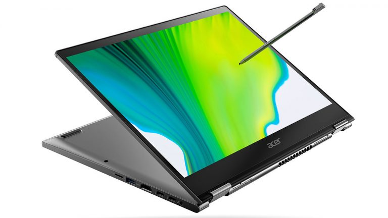 The new Acer Spin convertible laptops are thinner and with Intel Ice Lake processors