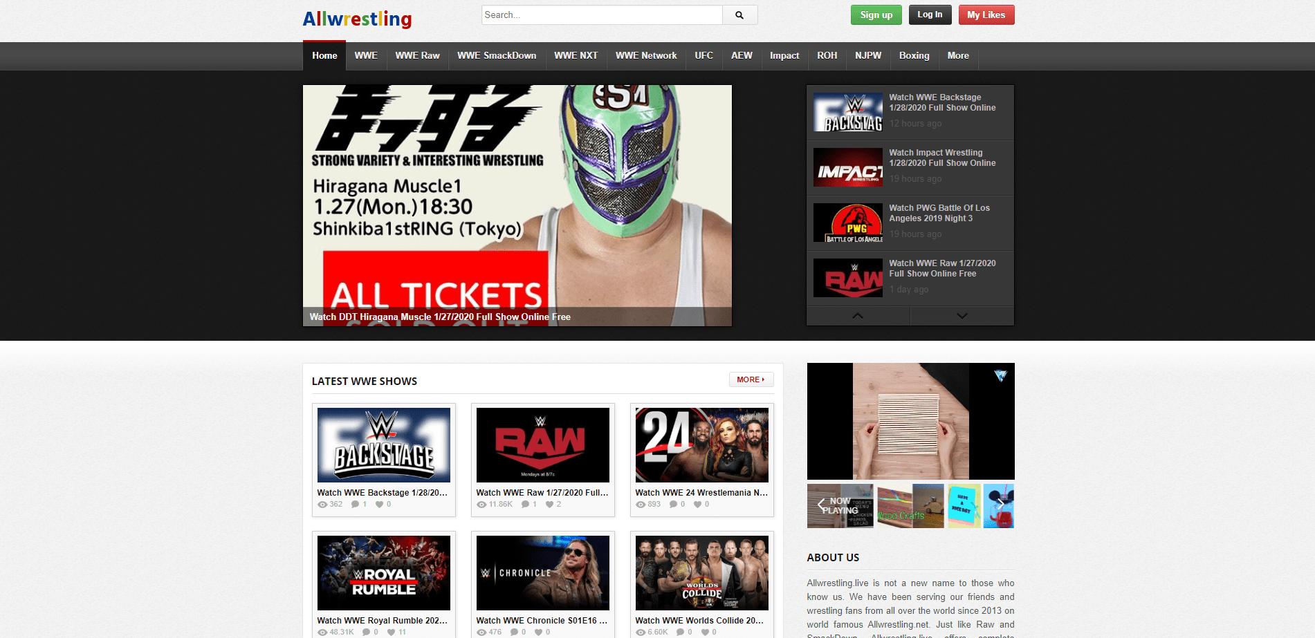 All Wrestling