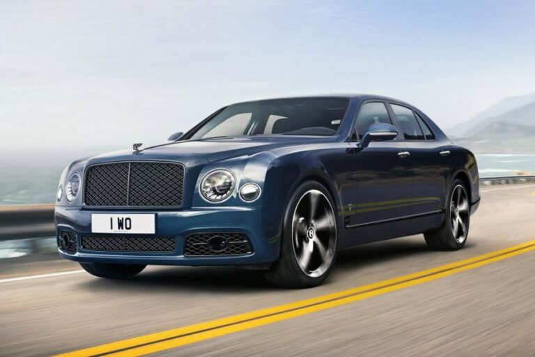 2020 Bentley Mulsanne 6.75 Special Edition Revealed