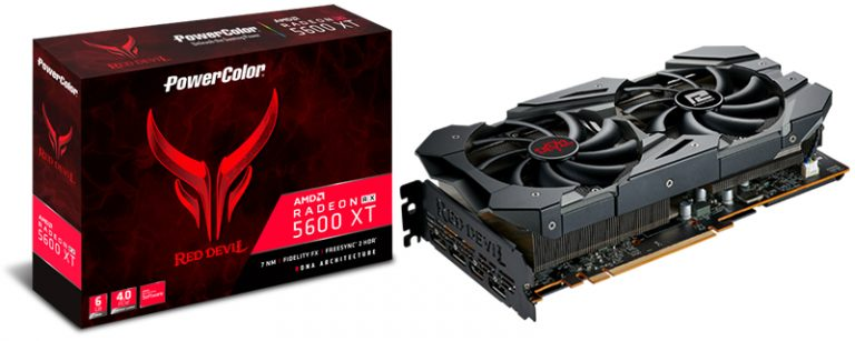 PowerColor presents Radeon RX 5600 XT Red Devil with 14Gbps GDDR6 memory