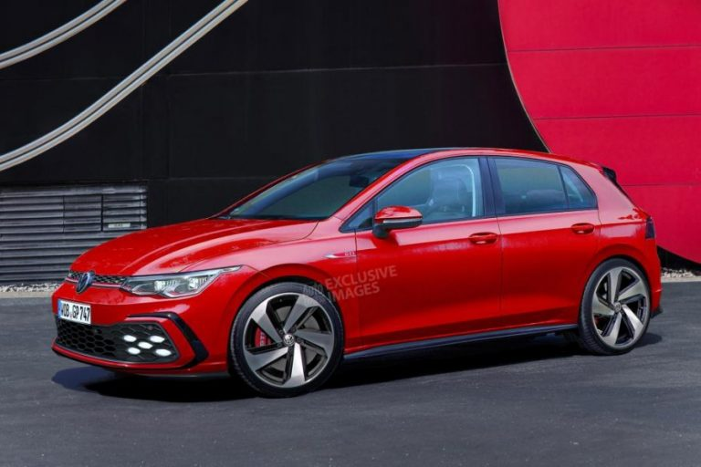 The new Golf GTI Mk8 with over 280 horsepower