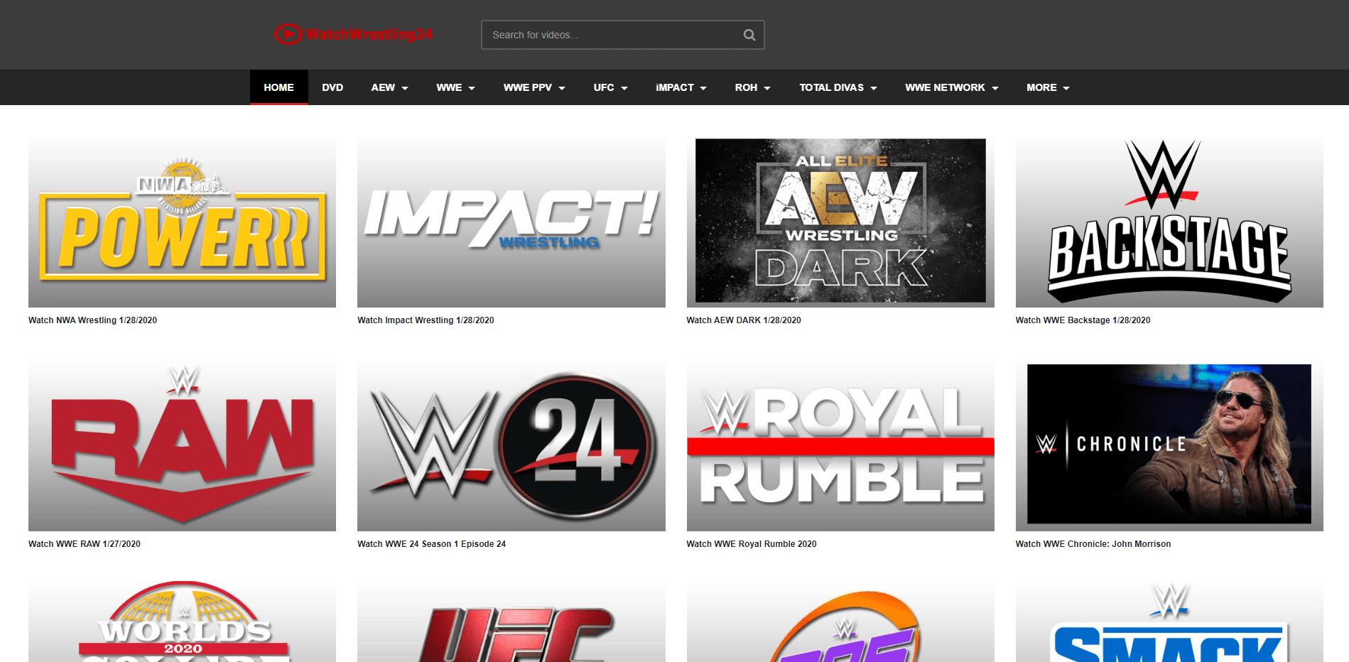 Watch Wrestling 24