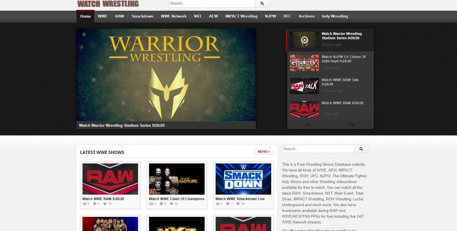Watch Wrestling Uno