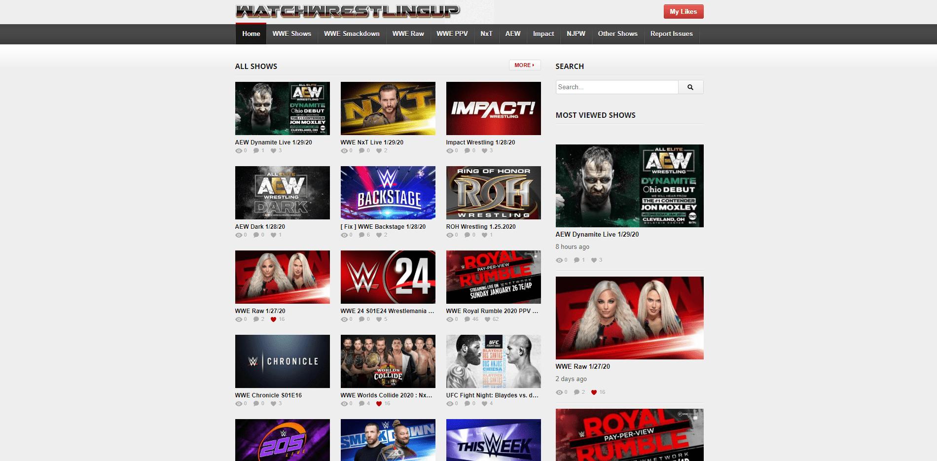 Online Wrestling