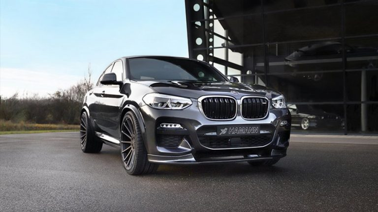 Hamann presents the package for the 2020 BMW X4