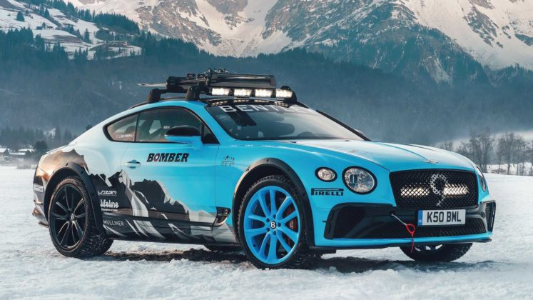 bentley continental gt ice racing 2