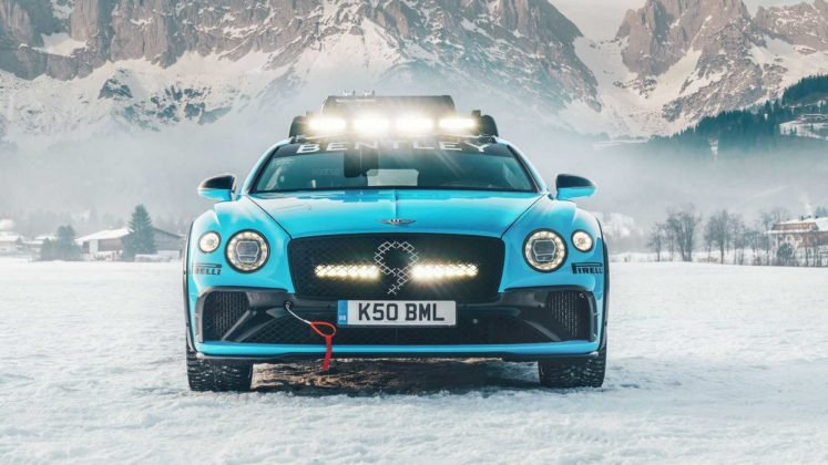 bentley continental gt ice racing 3