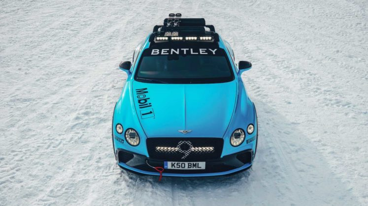bentley continental gt ice racing 4