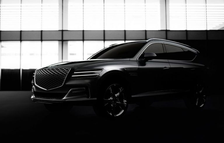 Genesis unveils the first photos of its GV80 SUV