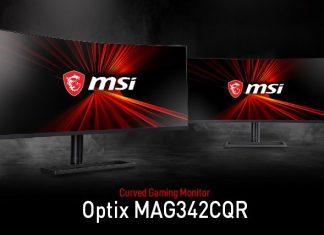 Optix MAG342CQR 1000R Gaming Monitor