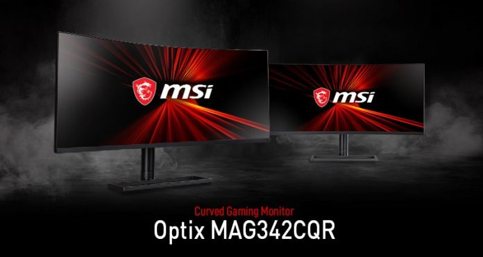 Optix MAG342CQR 1000R Gaming Monitor
