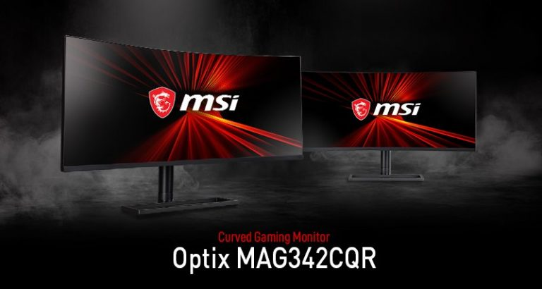 MSI Announced its Curved Screen for Gaming: Optix MAG342CQR 1000R