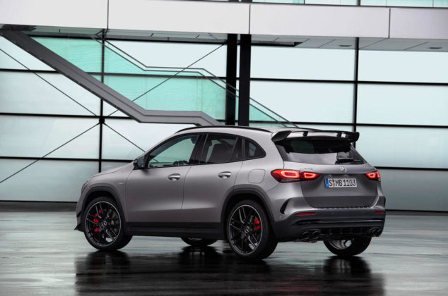 87 mercedes amg gla 45 2020 official static rear