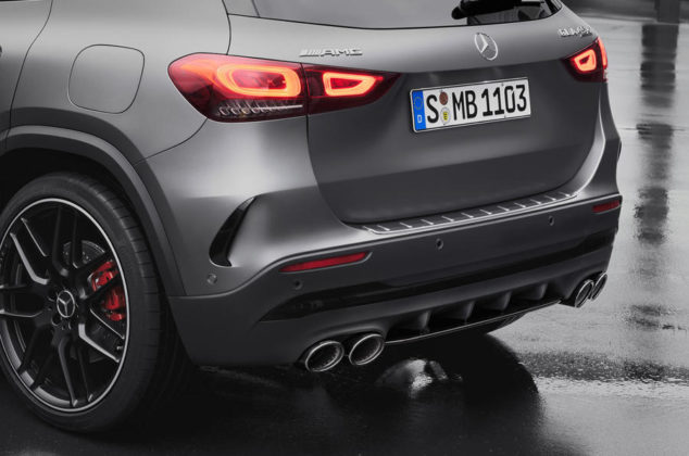 93 mercedes amg gla 45 2020 official exhausts