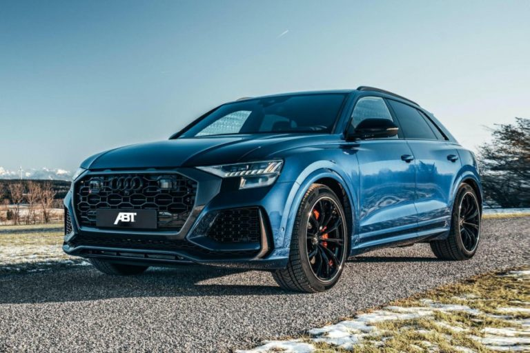 ABT's Audi RS Q8 reaches speeds of 0-100 km/h in 3.5 seconds