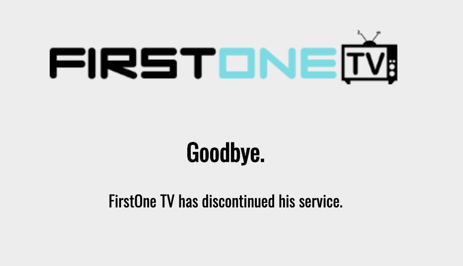 FirstOne TV Alternatives