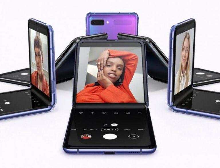 Samsung unveiled the new folding phone, Galaxy Z Flip