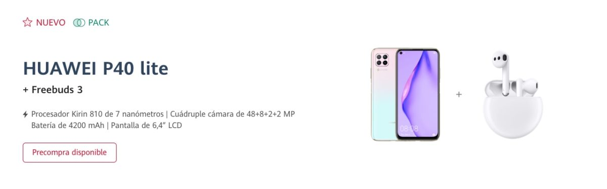 Huawei P40 Lite Spain Offer