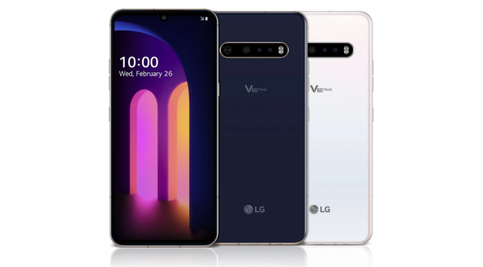 LG V60 ThinQ 5G Officially