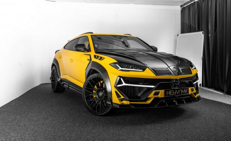 Lamborghini Urus Boosted to 820 HP by Keyvany