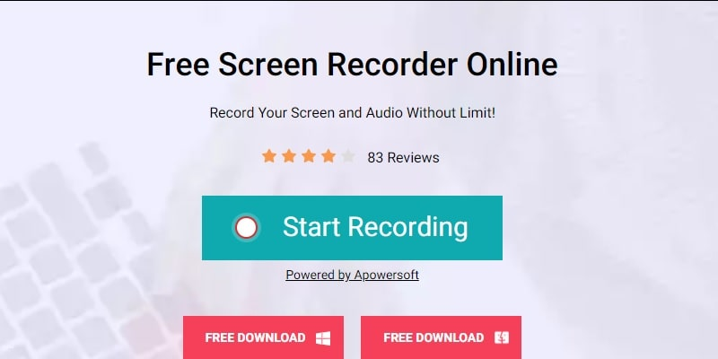 AceThinker Free Screen Recorder Online