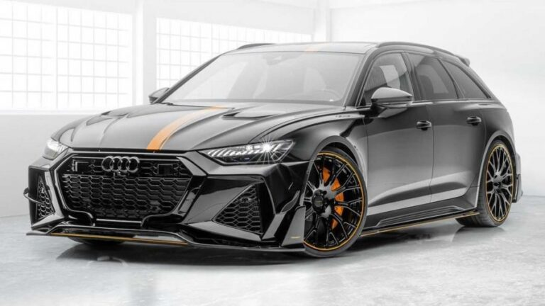 2021 Audi RS6 Avant Boosted to 720 HP by Mansory