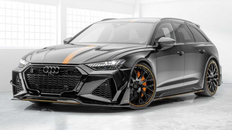 2021 Audi RS6 Avant Boosted to 720 HP by Mansory • neoAdviser
