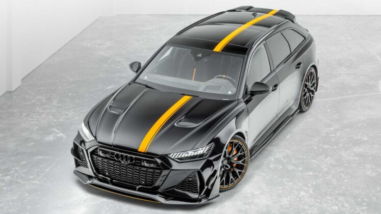 2021 audi rs6 avant by mansory 2