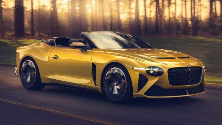 2020 Bentley Bacalar, the 1.7 million Super Special Car