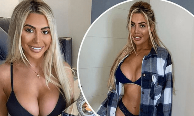 Bored in isolation, the reality show star gets undressed and posts photos on Instagram (Photo)