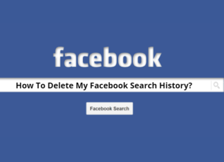 Clear your Search History on Facebook