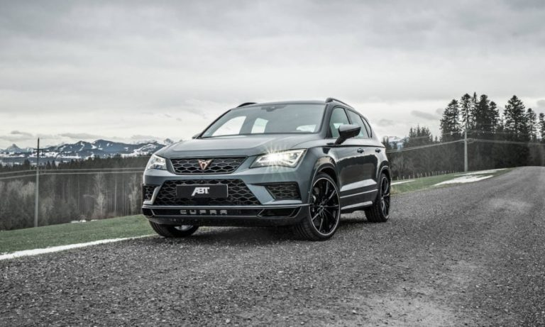 "Cupra Ateca Limited Edition under ABT ""Treatment"", Boosted to 350 HP"