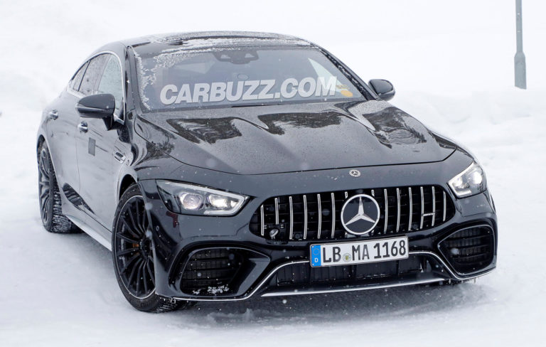 Mercedes-AMG GT 73 is getting ready to rival the Porsche Panamera