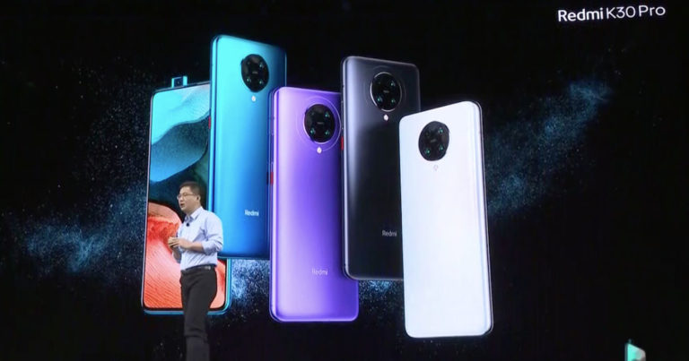 Redmi K30 Pro with Snapdragon 865 Officially Revealed
