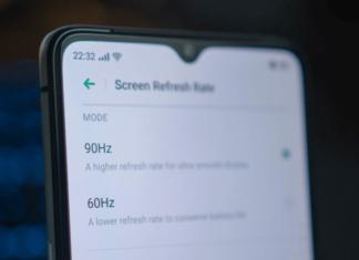 High Refresh Rate Screens