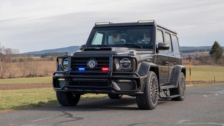 mansory mercedes amg g63 armored 12