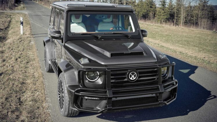 mansory mercedes amg g63 armored 3