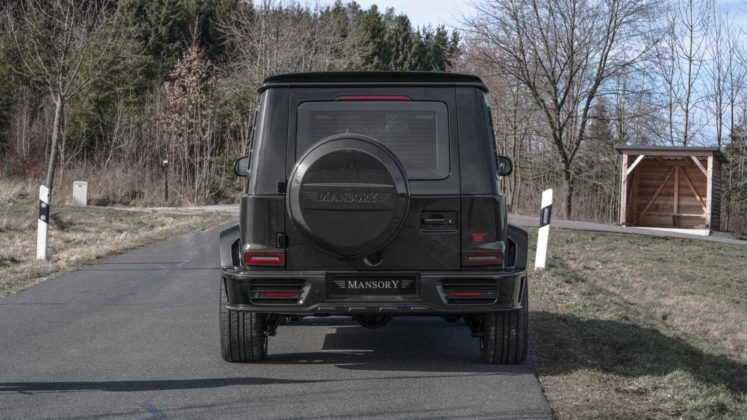 mansory mercedes amg g63 armored 4